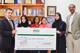 American University of Sharjah medical invention wins international awards