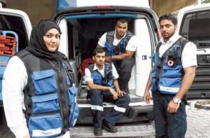 New life-saving fleet of vehicles in Dubai