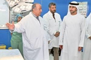 Hamdan opens Dh100m Garhoud Hospital