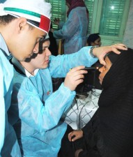 A campaign to fight blindness in Egypt