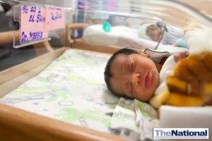 Infant death rate in Abu Dhabi falls by a fifth