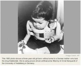 Thalidomide drug maker Grunenthal 'very sorry', 50 years on