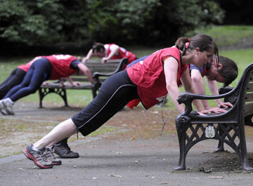 Three minutes of exercise can ward off cancer