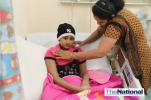 UAE family's race against time to raise Dh600,000 to save cancer girl