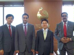 Sharjah Health Authority visits healthcare authorities in Seoul