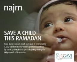 Children in Developing Nations gets vaccines via Majid Al Futtaim Initiative
