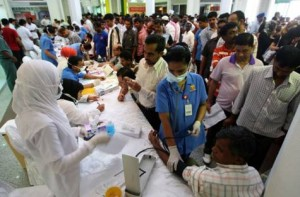 Free health clinic attracts thousands in Ajman