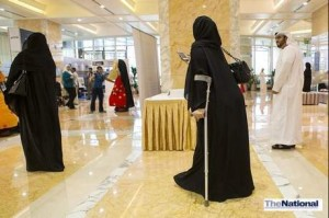 Belief is the key to overcoming disability, road show in Abu Dhabi told