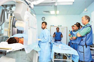 Dubai cardiologist pioneers new heart procedure