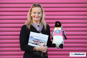 Book recounts epic trip to Antarctica for UAE breast cancer survivors