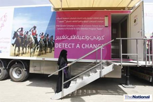 Pink Caravan rides across UAE to spread breast cancer awareness