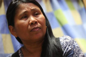 Filipina cancer survivor thanks charities for saving her life