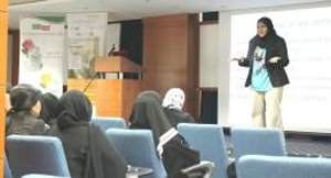 DEWA Women's Committee provides lecture on cervical cancer