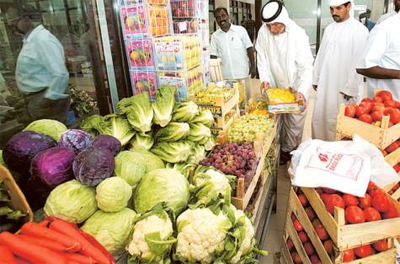Food safety drive in Abu Dhabi in summer
