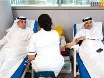 Blood donation drive held in Dubai
