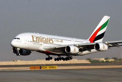Children fall sick on Emirates flight to London