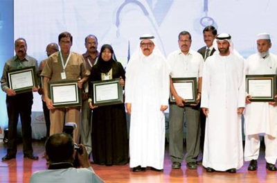 Long-serving DHA staff felicitated