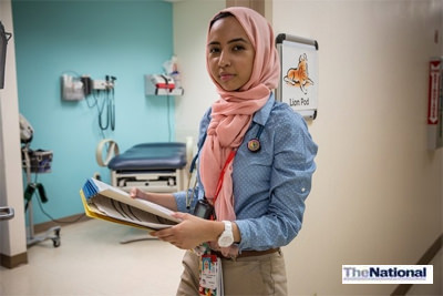 Emirati doctor is furthering her study in US capital so she can make a difference in the UAE