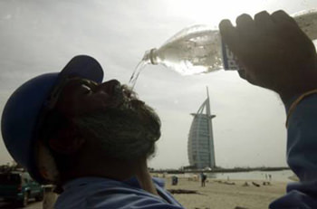 Heat exhaustion risk flares with humidity