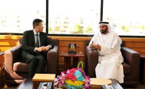 DHA Director General receives Consul-General of the Republic of Singapore