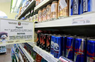 Energy drink age limit under review