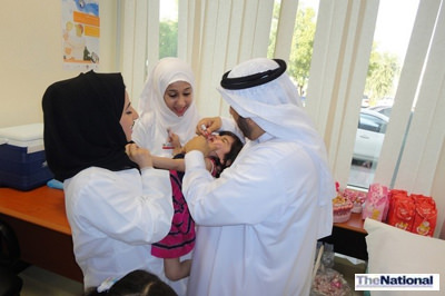 Polio vaccination campaign launched