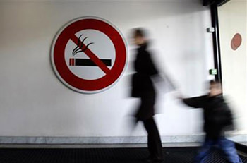 Travelling with a smoker increases cancer risk