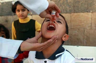 Under-five boosters keep UAE polio-free