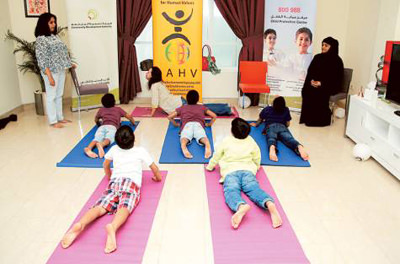 Yoga and meditation help kids overcome trauma