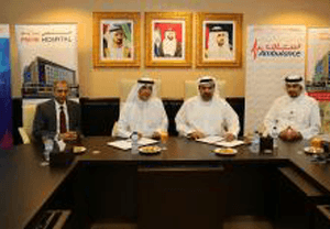 DCAS and Prime Hospital sign a cooperation agreement to transport sick and injured