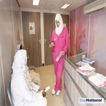 Pink Caravan screens 29,000 for breast cancer