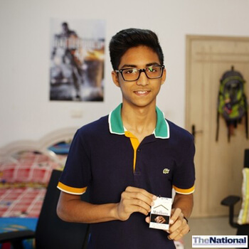 Dubai teen invents talking cigarette pack to deter smokers