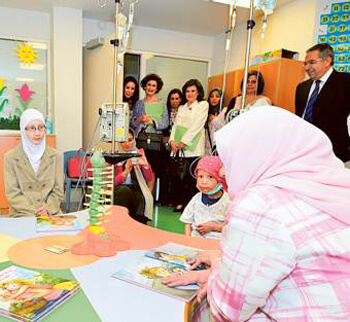 Importance of supporting children with cancer emphasised