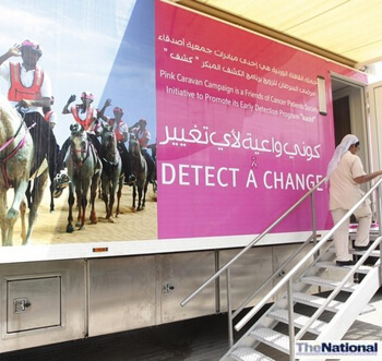 Free breast cancer screenings across UAE extended