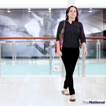 Women walk in UAE malls to stay healthy