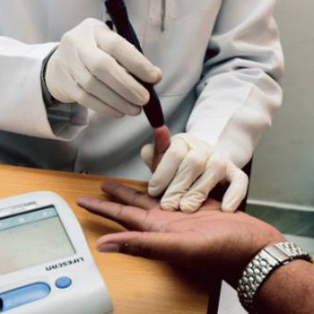 High number of diabetic globally