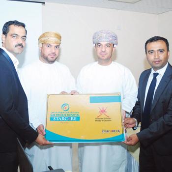 MOE Sharqiya, Starcare Sur Hospital sign medical services agreement