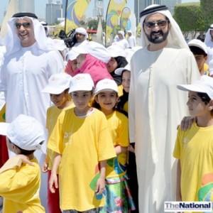 UAE leadership takes part in healthy living walk in Abu Dhabi