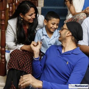 Bollywood singer cheers children at Dubai Autism Centre