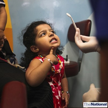 Dubai dental screening aims to put special needs children at ease