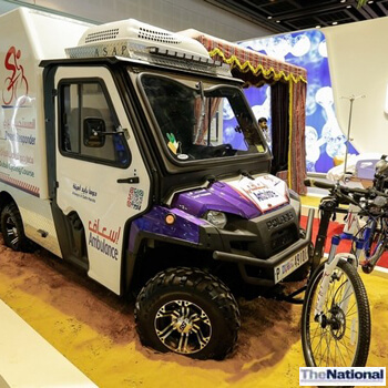 Dubai muscle car ambulances are not only smart but fast