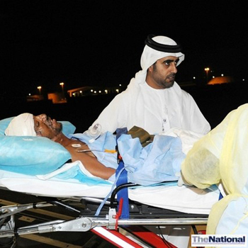 UAE airlifts injured Libyan family and Yemenis to hospitals