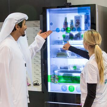 X-ray mirror and smart fridge in UAE