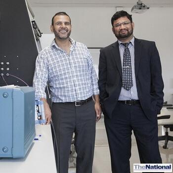 Khalifa University scientists developing heart monitor for safe training