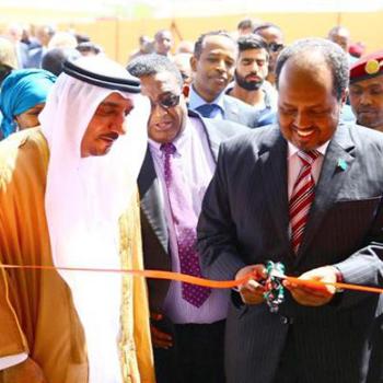 President of Somalia opens Sheikh Zayed Hospital in Mogadishu