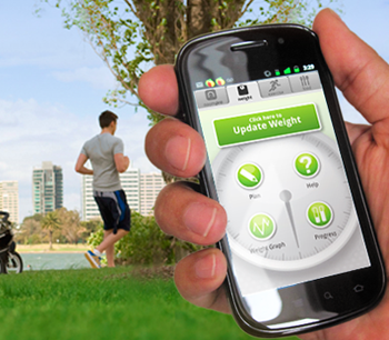 Students develop app to monitor patient's health and fitness