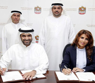 MoH and GMG Collaborate to Develop and Improve Healthcare in UAE