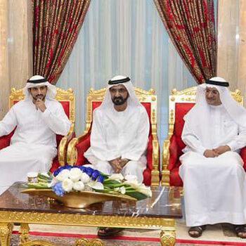 Mohammed bin Rashid meets Dubai Health Authority's management, staff