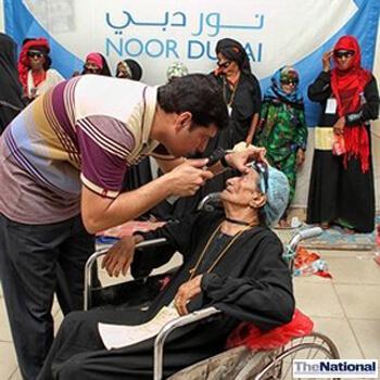 Noor Dubai Foundation has helped 23 million people with eyesight ailments