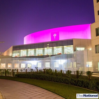 NYU Abu Dhabi goes pink for Breast Cancer Awareness Month